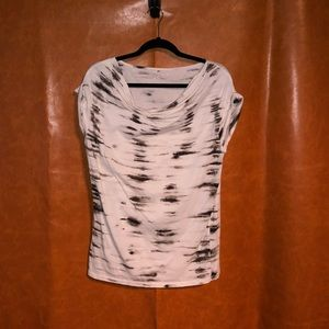 Ann Taylor-dark brown/black shirt